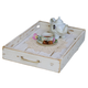 Doug and Cristy Designs Serving Accent Tray with Rope Handles product