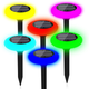 Solar Color-Changing LED Pathway Light (4-Pack) product