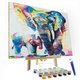 Artistry Rack Scenery & Animals Paint by Numbers Kit product
