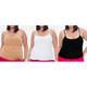 Women's Ultra-Soft Camisole Spaghetti Strap Tank Top (3-Pack) product
