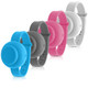 Adjustable Refillable Hand Sanitizer Wristband (4-Pack) product
