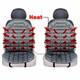 Zone Tech Gray Heated Seat Covers (Set of 2) product