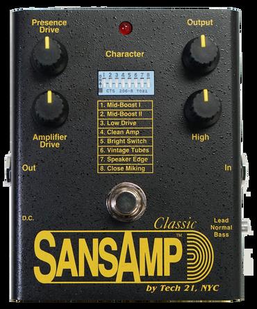 Tech 21 SansAmp Classic Tube Amp Emulator Pedal
