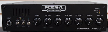 Mesa Boogie D-800 Bass Amp *On Order, ETA June 2022