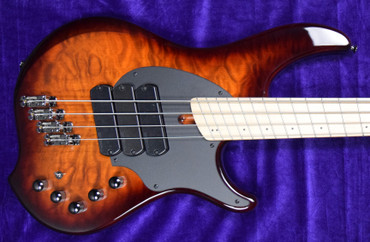 Dingwall Combustion 4 String (3 Pickup), Vintage Burst with Maple Fingerboard *In Stock!