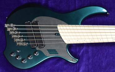 Dingwall NG-2 (6 String), Black Forrest Green / Maple Fingerboard *In Stock!