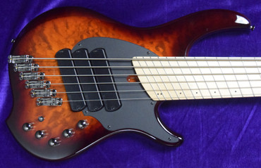 Dingwall Combustion 6 String (3 Pickup), Vintage Burst with Maple *In Stock!