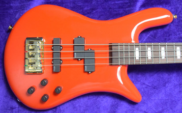 Spector Euro 4 Classic, Gloss Red with Rosewood Fingerboard