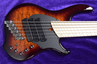 Dingwall Combustion 6 String (3 Pickup), Vintage Burst with Maple. *In Stock!