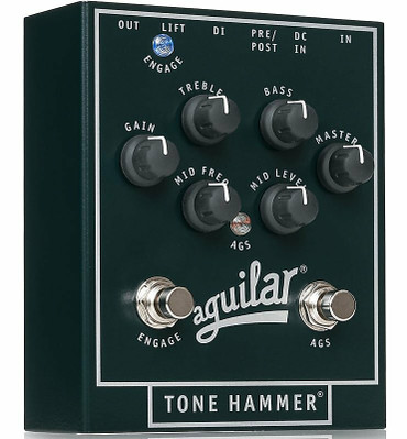 Aguilar Tone Hammer Preamp/Direct Box *On Order, ETA = Nov. 2021