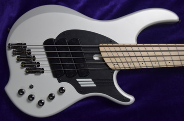 Dingwall NG-3 (5), Ducati Matte Pearl White w/ Maple *In Stock!
