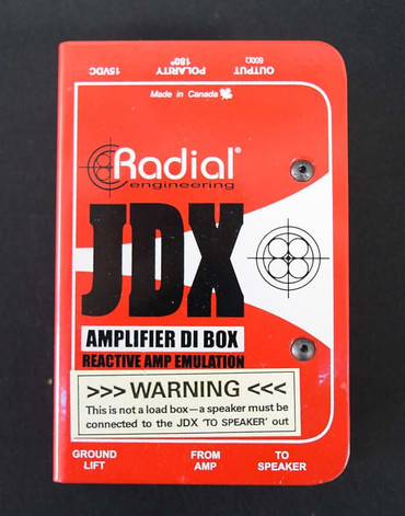Radial JDX Amplifier Direct Box