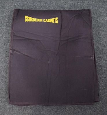 "(L) Schroeder Padded Cover for Cabinets: 28""(h), 23""(w), 16""(d)"