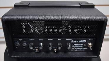 Demeter VTB-400D Amp in Tolex-Covered Wood Case