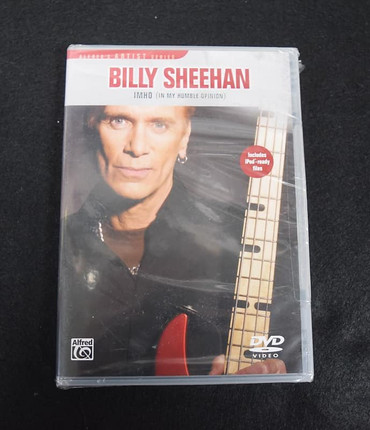 Billy Sheehan: In My Humble Opinion (Instructional DVD)