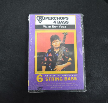 Superchops 4 Bass with Roy Vogt: Getting the Most out of 6 String Bass (Instructional DVD)