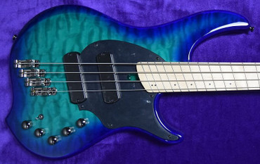 Dingwall Combustion (4 String), Whalepool Burst with Maple Fingerboard *On Order ETA Oct. 2021