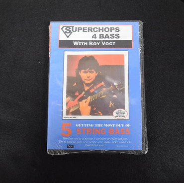 Superchops 4 Bass with Roy Vogt: Getting the Most out of 5 String Bass (Instructional DVD)