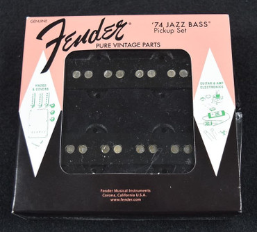 Fender Pure Vintage '74 Jazz Bass Pickup Set *New In Box*