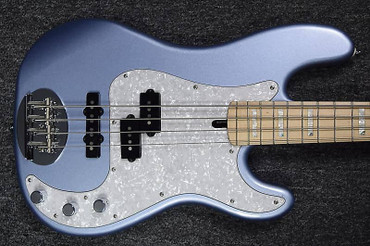 Lakland Skyline 44-64 Custom, Ice Blue Metallic with Maple Fingerboard