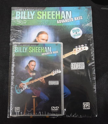 Billy Sheehan: Advanced Bass (Instructional Book and DVD)