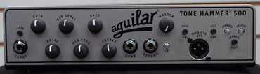 Aguilar Tone Hammer 500 Head, Black/ Silver Face *NOT Pre-Owned
