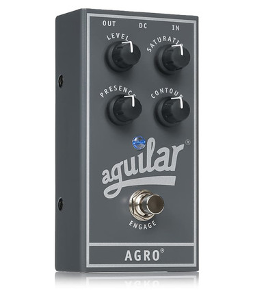 Aguilar AGRO Bass Overdrive Bass Effects Pedal *NEW IN BOX*