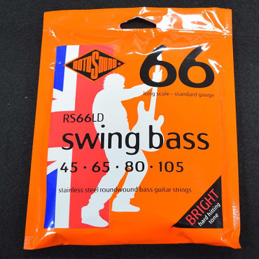 Rotosound RS66LD Bass Strings, 45-105 Long Scale
