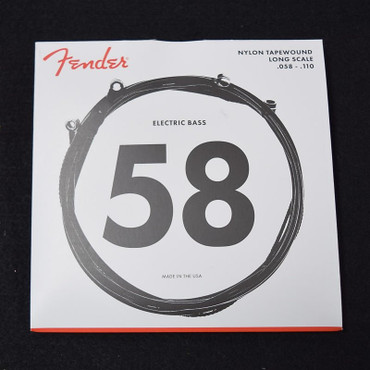 Fender Nylon Tapewound Bass Strings, LS9120 58-110 Long Scale