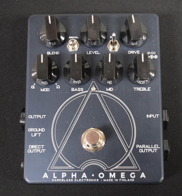 Darkglass Electronics Alpha Omega Bass Dual Overdrive/Distortion *New-In-Box*