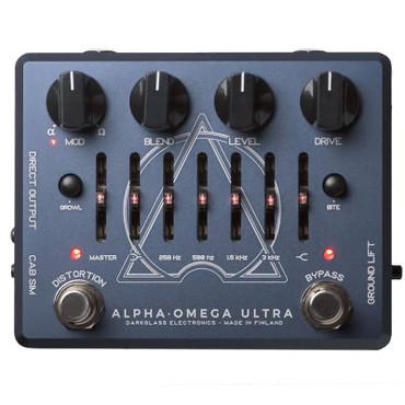 Darkglass Electronics Alpha-Omega Ultra, Dual Bass Distortion/Preamp Pedal