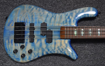 Spector USA NS-2, Super Faded Blue (4th of it's Kind) with Pau Ferro Board *7.9 Lbs!