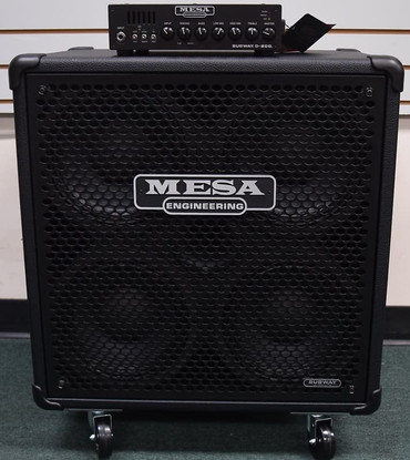 Mesa Boogie Subway Stack D-800 with 4x10 Cab