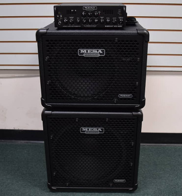 Mesa Boogie WD-800 Amp with Subway 115 and 112 Cabs
