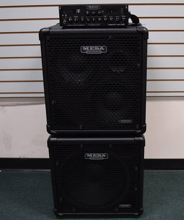 Mesa Boogie WD-800 Amp with Subway 115 and 210 Cabs