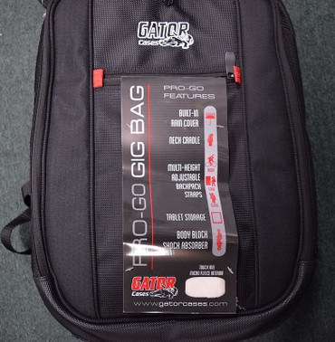 Gator Pro-Go Gig Bag For Electric Basses