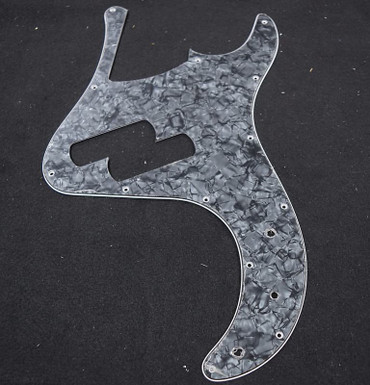 "Dingwall ""Super P"" Pickguard, Black Pearloid (5-String)"