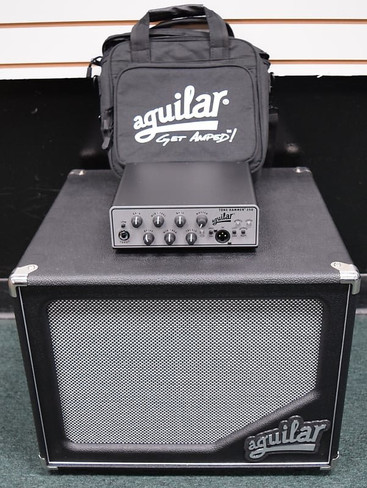 Aguilar Tone Hammer 350 Head / Bag / SL 112 Cab *NOT Pre-Owned