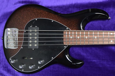 Ernie Ball Music Man BFR StingRay 5 Special, Ginger Burst with Rosewood *RARE, Only 89 Made! LAST 1!
