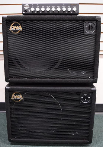 DNA 800 Watt Amp, and (2x) DNS 112-N Cabs,  (Not Pre-Owned!)
