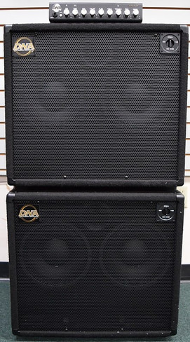 DNA 800 Watt Amp Stack, and (2x) DNS 210-N Cabs