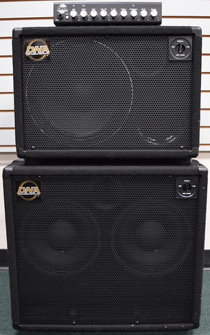 DNA 800 Watt Amp Stack, DNS 112-N and DNS 210-N Cabs