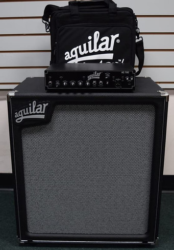 Aguilar STACK AG-700 Amp + FREE Carry Bag + SL 410 Cab, *Package Deal