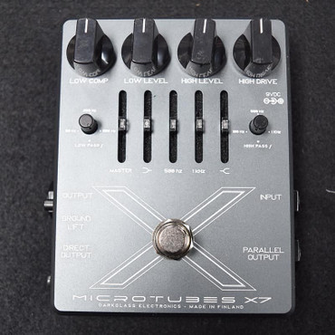 Darkglass Electronics Microtubes X7 Bass Preamp / Distortion Pedal, *New In Box*