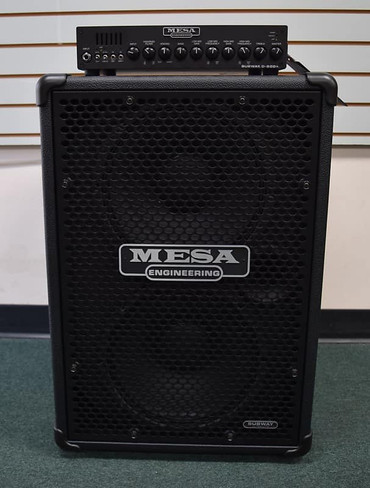 Mesa Boogie Subway D-800 and 2x12 Cabinet Stack