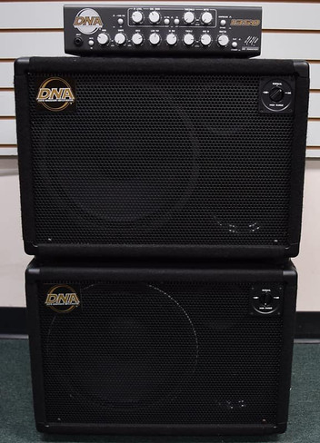 DNA 1350 Amplifier with (2x) DNS 112 Cabinets, *NOT Pre-Owned