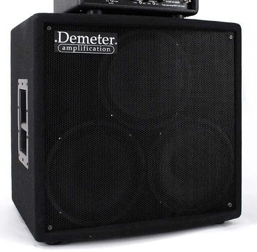 """Demeter BSC-310 3 x 10"""" Bass Speaker Cabinet (w/ Coax High Frequency Driver) *NOT-Pre-Owned"""