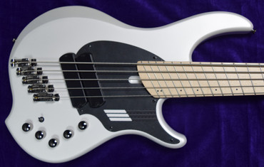 Dingwall NG-2 (5), Ducati Matte Pearl White with Maple Fingerboard *On Order  ETA Feb 2022