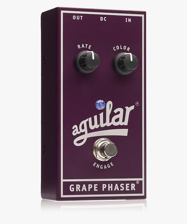Aguilar Grape Phaser Bass Effects Pedal *NEW IN BOX*