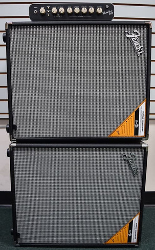 Fender Fender Rumble 800 Bass Amp Stack (2) 210 Cabinets *New-In-Box*